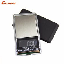 Mini Pocket Digital Scale for Gold Sterling Silver Jewelry Scales 0.1/0.01 Display Units Balance Gram Electronic Scales(China)