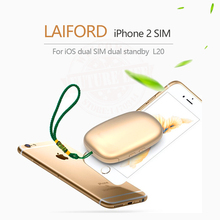 2017 Bluetooth Dual 2 Sim Dual Standby Extend SIM Adapter L10 LAIFORD GoodTalk S No Jailbreak for iPhone5-7 and iOS7-10.3.3