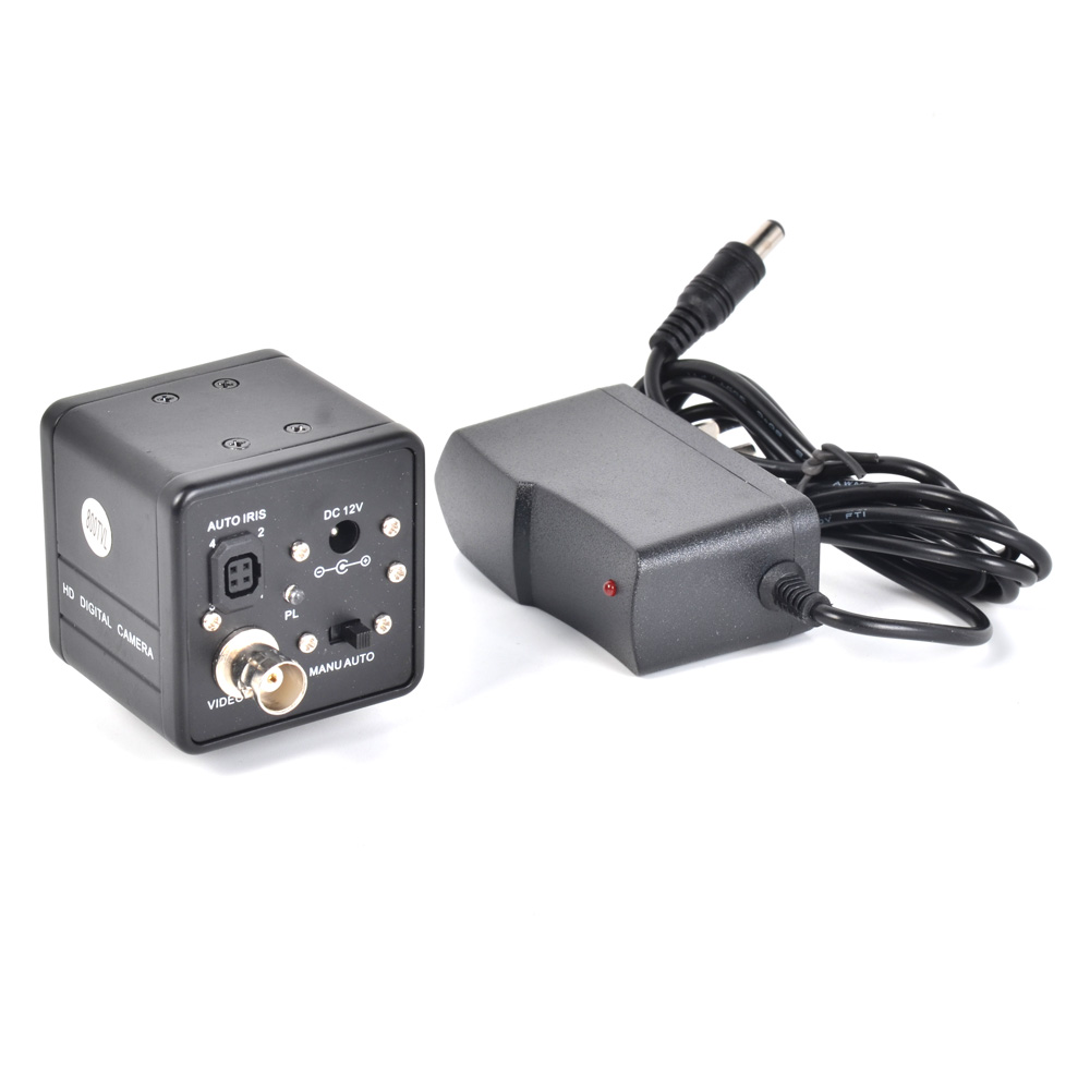 800TVL BNC Digital Industrial Microscope Camera 1/3 CCD Digital Microscope Camera Support BNC Color Video Output<br>