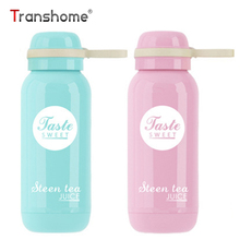 Transhome Cute Insulated Bottle 250ml Stainless Steel Thermoscup Coffee Thermos Vacuum Flask Belly Insulated Tumbler Travel Mug