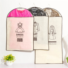 3pcs/set Clothing Covers Dust cover for suit Coat dust bag Clothing storage bag Oxford non - woven suit cover(China)