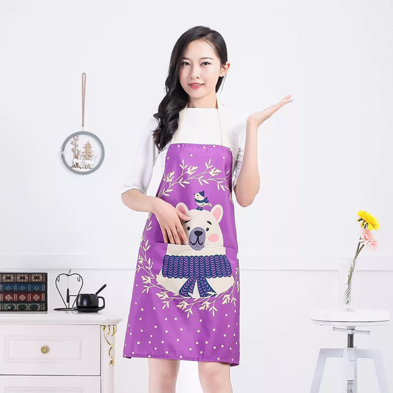 Bag Parts & Accessories 100% True High Quality 3d Printing Dogs Pattern Home Leisure Fashion Kitchen Supplies Aprons