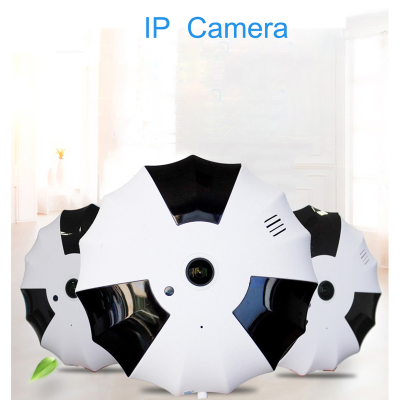 360 Degree Wireless Panoramic Camera 1080P Network Wi-fi Fisheye Security IP Camera WIFI <br>