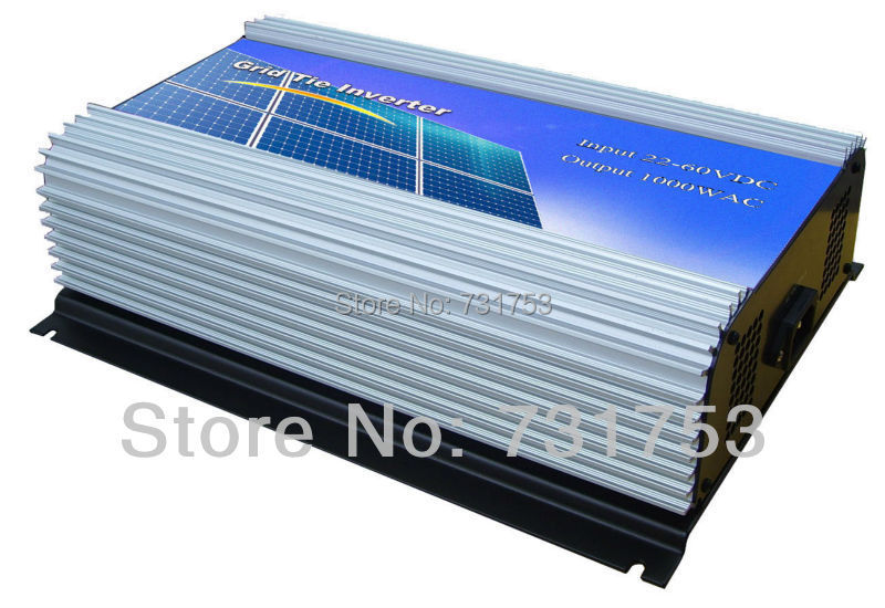 MAYLAR@ 1000W Solar Grid Tie Inverter For Solar Energy System ,LCD Display ,22-60VDC,90-260VAC, 50Hz/60Hz(China)