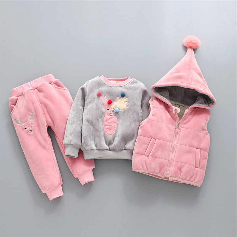 019191015f79 Detail Feedback Questions about 2018 New Winter Baby Girls Clothing ...
