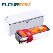Floureon 4S 14.8V 4500mAh 30C with T Plug LiPo RC Battery Pack for RC Car, Truck, RC Airplane UAV Drone FPV(China)