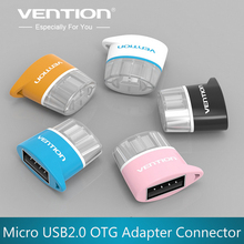 VENTION Micro USB To USB OTG Adapter/ Cable 2.0 Converter For Samsung huawei xiaomi meizu ect Tablet Pc to Flash Mouse Keyboard