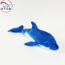 Kids lovely toy stuffed dolphin plush sea animal marine museum commemorative gifts toy dolphin 60#(China)