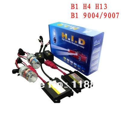 HID xenon lights kit B1 H4 H13 9004 9007 35 w slim ballast is 4300K 5000K  6000K  8000K  10000K 12000K<br>