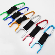 3PCS Practical Outdoor Sports Camping Hiking Survival Traveling Key Carabiner Water Bottle  Hook Holder Clip free ship WYQ