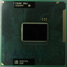 free shipping original intel Pentium CPU SR0J1 B980 SROJ1 B980 2.4G/2M HM65 HM67 100% chips original IC processor laptop B 980(China)