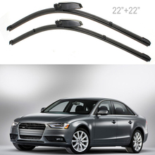 "High Quality 2X 22"" Left Right Windscreen Wiper Blade for Audi A4 A6 MA176"
