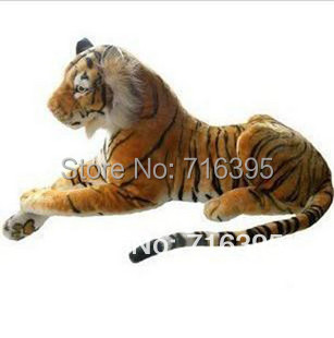 Free shipping 2014 Plush toy cloth doll artificial tiger south china tiger plush toy tiger Ultra-realistic simulation Tiger 819(China)