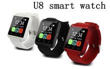 FREE ship Bluetooth Smart Watch U8 Watch Inteligente for iPhone Android Phone Good as Smartwatch U80 DZ09 GT08(China)