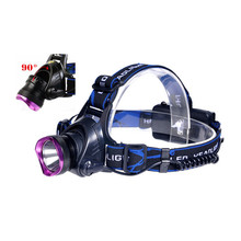 H2 High-quality XPE LED headlamp 3 Modes 2000 lumen head lamp Head Light Outdoor Camping use 18650 battery