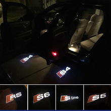 Car Door Welcome Light Logo Projector Audi A3 A4 B6 B8 B5 A6 C5 C6 TT Q5 Q7 Q3 A5 A8 A7 A1 R8 8P 8L 8V RS S line Quattro - CTAUTO Store store
