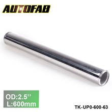 "63mm 2.5""Aluminum  Exhaust/Downpipe/Intercooler DIY Piping Pipe Straight L: 600mm For Honda 94-97 Accord TK-UP0-600-63"