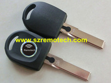 Transponder key shell For Car Key Blank Shell for Volkswagen B5 VW Passat Transponder Key Case HU66 Key Cover