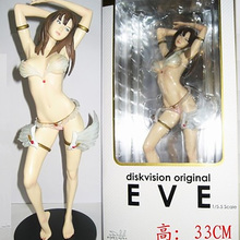 Diskvision ,33CM PVC Bikini Figure Toys ,Cute Sex Action Figures Statue , Anime Figure Figurines Best Gift Toys  For Friends