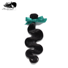 Mocha Hair Body Wave European Virgin Hair extension 12inch-26inch Nature Color 100% Human Hair Weaves(China)