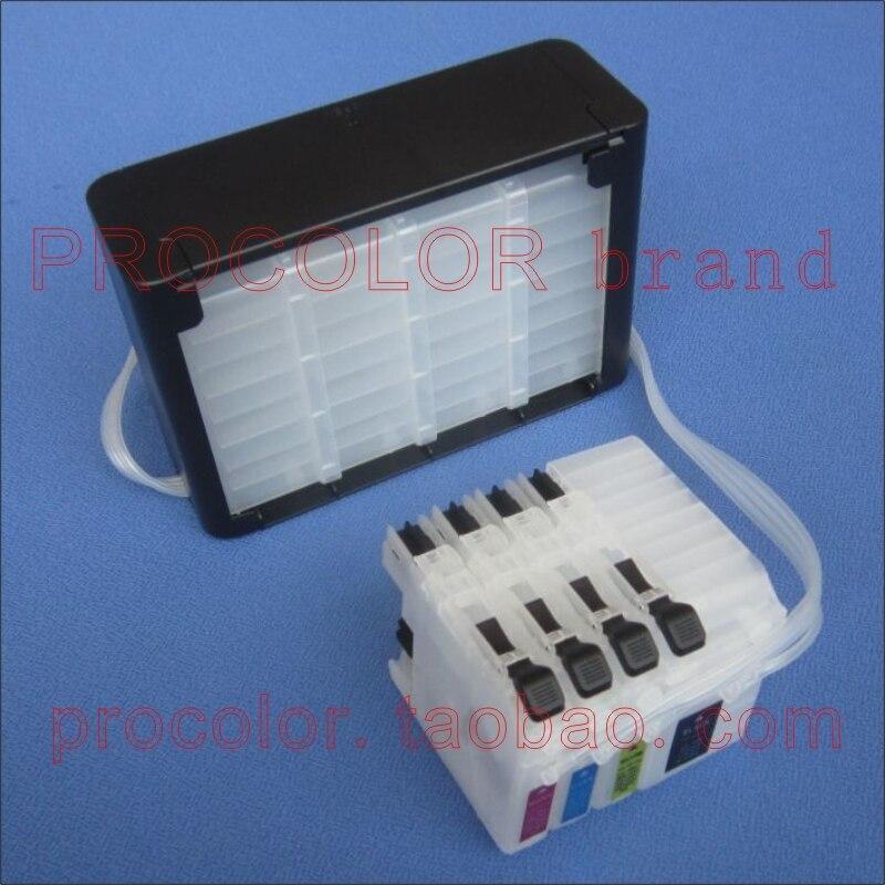PROCOLOR CISS LC509/LC505/LC-509XL BK/LC-505XL C M Y for BROTHER DCP-J100/DCPJ100/DCP-J105/DCPJ105/MFC-J200/MFCJ200...<br>