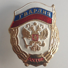 1PC Russian Medals Aluminum Guards Badge Cockade Badge