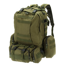 50L Unisex Outdoor Backpack Molle Military Tactical Camping Travel Rucksack Trekking Bicycle Packsack Climbing Bag Gift Mochila