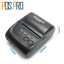 IMP006 Free SDK 58mm Handheld Pos Printer Android iOS Bluetooth4.0 thermal printer receipt printer Mini Mobile Protable Printer(China)