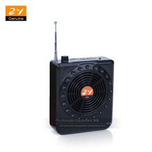 25W Waistband Amplifier AMP Portable PA System Voice Booster Loud Teaching Speaker Mic MP3 Player FM Radio Support USB TF Card(China)