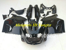 ABS Fairing kit for 1993 2003 KAWASAKI Ninja ZZR1100 93-03  ZZR 1100 1993-2003 ZX-11 ZZR1100D all gloss black fairings bodywork