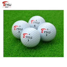 TTYGJ Outdoor Sport Golf Balls Game Training Match Competition Rubber Three Layers High Grade Professional Golf Ball White