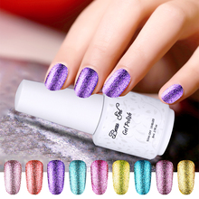Buy Beau Gel Platinum Starry Gel Nail Polish Bling Glitter Sequins UV Gel Varnish Soak Long Las Nail Gel Nail Art Tips Manicure for $1.66 in AliExpress store