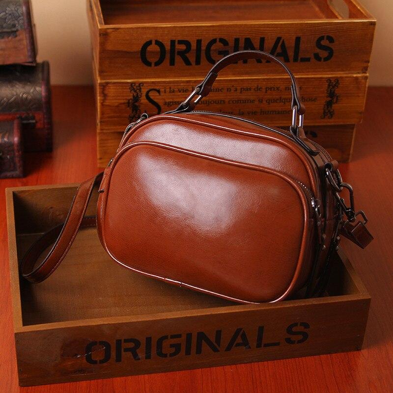 Womens Brown Shoulder Bags Summer Ladies PU Leather Messenger Bags Female Crossbody Bag Girls Casual Totes Postman Handbags New<br><br>Aliexpress