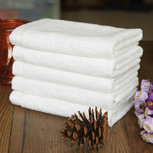 New 1Pcs Soft 100cm Cotton 35*70cm Hotel Bath Towel Washcloths Hand Towels(China)