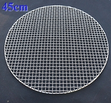 450-800mm Big type round stainless steel barbecue net,carbon bake grill net,round bbq grid,wire mesh bbq grill racks(China)