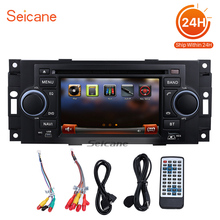 "Seicane 2 din 5"" Car Radio for Dodge Stratus Viper 2002-2008 GPS Navigation IPod USB SD card Bluetooth Support Rearview camera(China)"