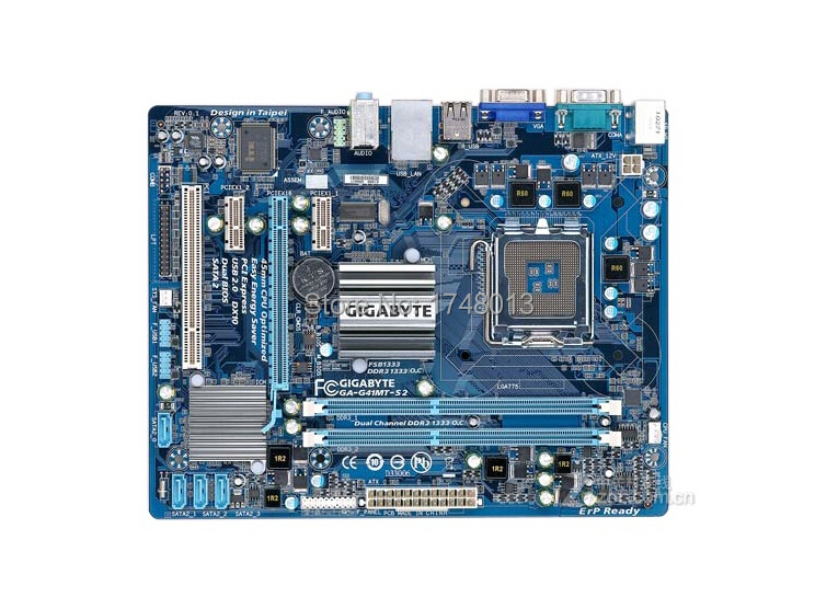 Free shipping original motherboard for gigabyte GA-G41MT-S2 LGA 775 DDR3 G41MT-S2 8GB Fully Integrated g41 desktop motherboard(China (Mainland))