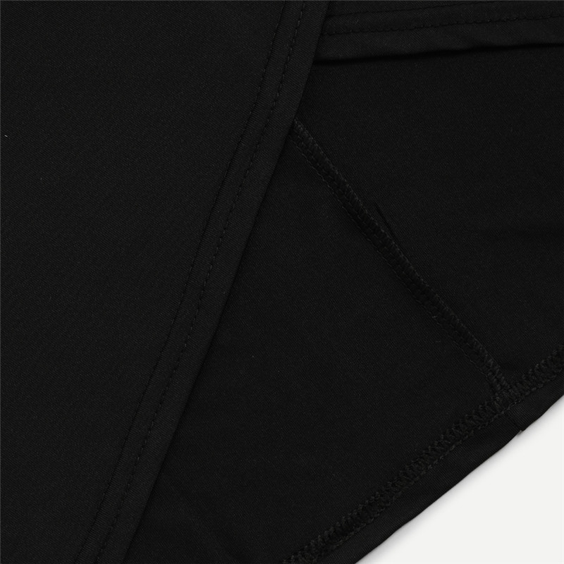 COLROVE Sexy Ruched Mini Pencil Skirt Women Black Asymmetrical Overlap Summer Skirts 2017 New Elegant High Waist Slim Club Skirt 23