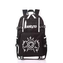 "2017 New Naruto School Backpack Anime Bag Cosplay Cartoon Student Leisure Back To School 17"" Backpacks Laptop Travel Shouler Bag"