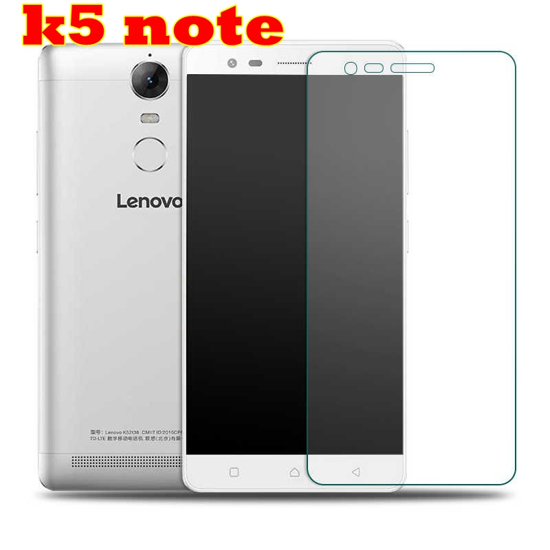 Tempered glass FOR Lenovo Vibe K5 Note A7020 K52t38 A7020a40 A7020a48 screen protector film FOR Lenovo mobile phone elephone