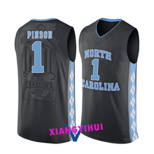 2017 North Carolina Pinson 1 College Basketball Jersey -Ang Logo Ang Name Can Customized