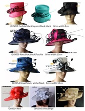New Sinamay Church Formal Dress Hat for kentucky derby,wedding,party,mix style and color.can't pick style,FREE SHIPPING BY EMS