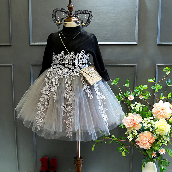 2017 Autumn And Girl Dress Princess Dress Childrens Garment Special Christmas Lace Fashion Girls<br><br>Aliexpress