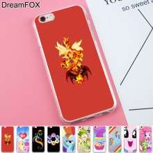 Buy DREAMFOX K218 Sunset Shimmer Soft TPU Silicone Case Cover Apple iPhone 8 X 7 6 6S Plus 5 5S SE 5C 4 4S for $1.39 in AliExpress store