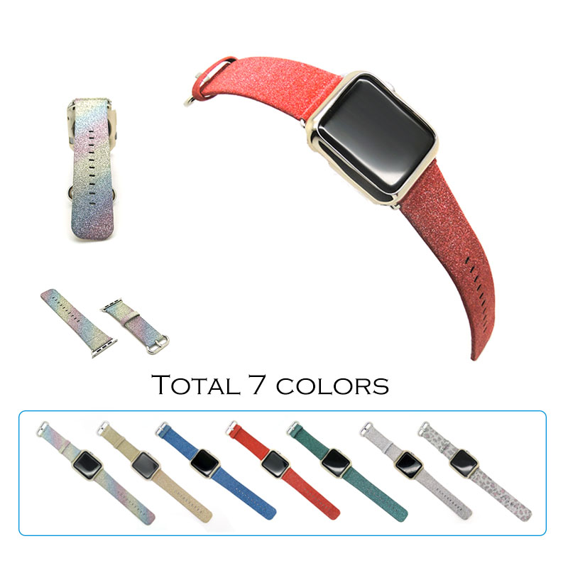 URVOI band for apple watch Series 2 bling glisten twinkle strap for iwatch Classic buckle blink fashion Giftable Christmas band<br><br>Aliexpress
