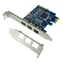PCI-E to 1394B adapter card TV tuner capture cards FireWire 800 expansion card