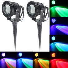NEW Product 10W DC12V RGB LED Underwater Fountain Light Swimming Pool Pond Fish Tank Aquarium LED Light Lamp IP68 Waterproof(China)