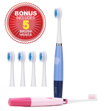 Waterproof Sonic Electric Toothbrush Adult Fashion Health Toothbrush Electric+ 5 Replacement Heads Deep Clean Tooth Brush sg-915