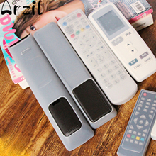 5 Sizes/Set Remote Control Storage Bag Silicone Dust Cover For TV Air Conditioning Protective Organizer Items Accessories(China)