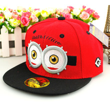 New style hip hop dance baseball hat children cartoon snapback cap baby boy summer red hat kids girl sun hat lovely cap free